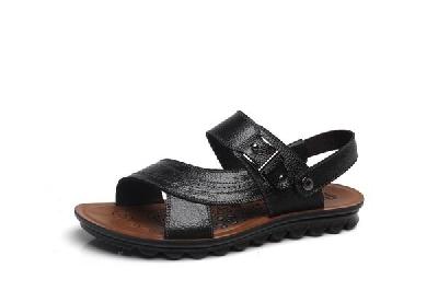 Мъжки сандали в кафяв и черен цвят подходящи за ежедневие - 8 модела