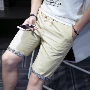 Мъжки къси ежедневни панталони