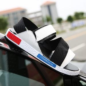 Мъжки сандали от изкуствена кожа в различни цветови комбинации - 6 модела подходящи за горещите летни дни