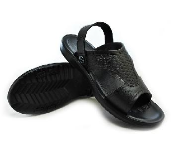 Мъжки черни летни плажни леки сандали