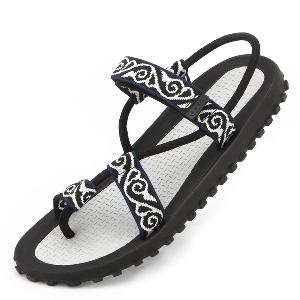 Мъжки летни плажни сандали - 5 модела - черни, червени, цветни