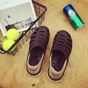 Мъжки плажни сандали в четири цвята.