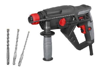 Перфоратор 600W, 3 свредла (6/8/10 mm)