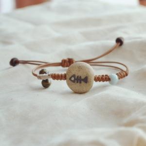 Керамични гривни за жени с изображение \