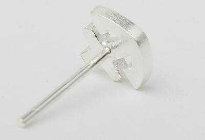 Ασημένιο ανδρικό σκουλαρίκι - 1 τύπου άγκυρα - Badu.gr Ο κόσμος στα ... 957e26861f6