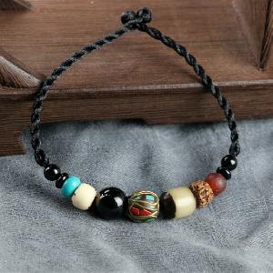Дамски гривни с декоративни ретро камъчета