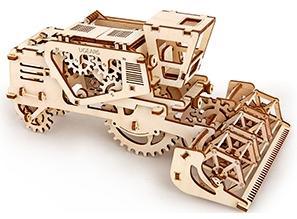 3D механичен пъзел Ugears комбайн