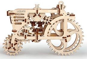 3D механичен пъзел Ugears трактор
