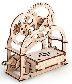 3D механичен пъзел Ugears механична кутия