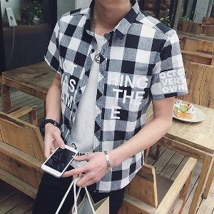 Αντρικά βαμβακερά πουκάμισα καρό - 3 μοντέλα - Badu.gr Ο κόσμος στα ... f5a0901c66e