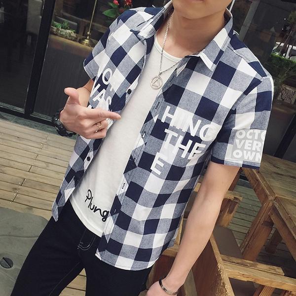 Αντρικά βαμβακερά πουκάμισα καρό - 3 μοντέλα - Badu.gr Ο κόσμος στα χέρια  σου 7abb22ad9c9