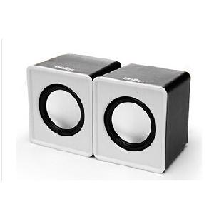 Мини колонки за компютър - червени, бели, зелени, сини, мощност 3 W,честота 20 hz - 20 khz, шум до 80 децибела