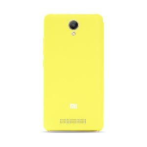 Кожен протектор тип флип за Xiaomi Redmi Note 2 Prime Edition в жълт,син,бял,розов и черен цвят