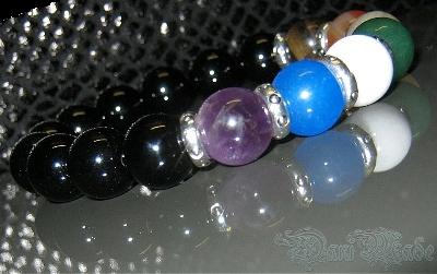 Дамска гривна от естествени камъни - DM-2208