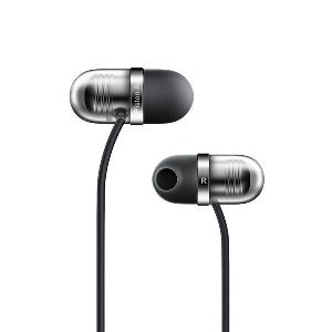 Удобни силиконови слушалки с микрофон Xiaomi Piston Air с извит дизайн до 45 ° в черен и златист цвят