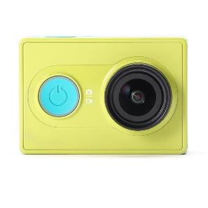 Камера Xiaomi Yi Sports с акумулаторна батерия 1010mAh,Wifi с обхват от 100 метра,Bluetooth 4.0 в зелен и син цвят 16 мп