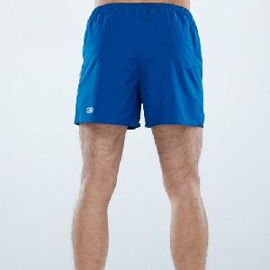 Мъжки спортни къси панталони в черен и син цвят
