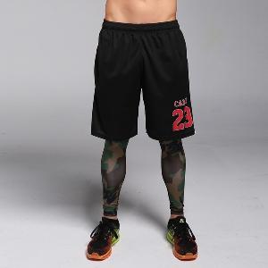 Мъжки летни бързосъхнещи спортни баскетболни шорти 6 модела