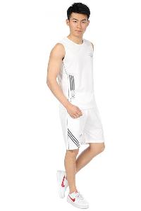 Мъжки спортен екип подходящ за фитнес и баскетбол - потник и шорти 5 модела