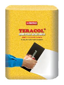Циментова шпакловка бяла Теракол 5 кг.