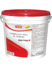 Борогрунд 10 - грунд за мазилки 25 кг.