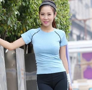 Γυναικεία αθλητικά μπλουζάκια κατάλληλα για γυμναστική και γιόγκα σε 3  χρώματα 92cb5263eb4