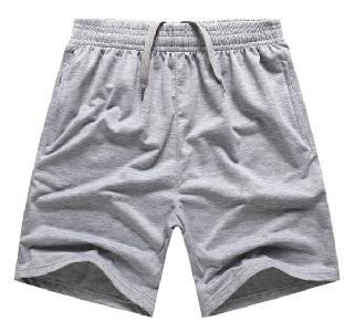 Мъжки спортни къси панталони в черен,сив и бял цвят в 6 модела