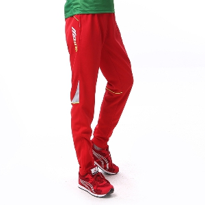 Мъжки спортни тренировъчни дълги панталони: червени, сини, сиви, черни за спорт, футбол и джогинг