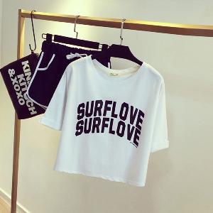 Дамски спортен екип Surf love 1 модел