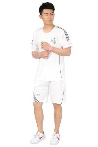 Мъжки спортни екипи с къси ръкави в бял,сив и черен цвят 14 модела