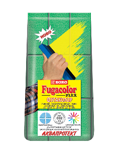 Фугаколор флекс - Черно 1кг. до 8мм