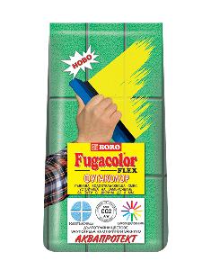 Фугаколор флекс - Черно 2кг. до 8мм