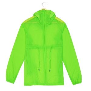 Дамски летни слънцезащитни якета в розов, зелен, син и бял цвят с качулка ветро и водоустойчиви