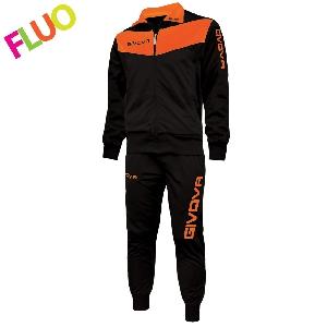 Спортен анцуг Givova Tuta Visa Orange Fluo