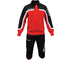 Спортен анцуг Givova Terra с 3/4 панталони red