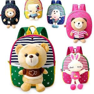 Детски ранички за детска градина подходящи за момчета и момичета в много различни модели и цветове - Хелоу Кити, пате, мече и др