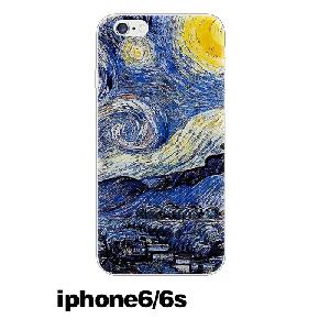 TPU кейсове подходящи за Iphone 6/6s, Iphone 5/5s и Iphone 6p/6sp - Ван Гог картини