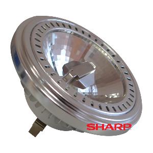 LED Крушка - AR111 15W Бяла светлина Димираща
