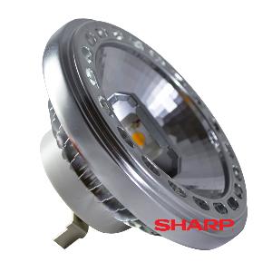 LED Крушка - AR111 40° 15W 12V Бяла светлина