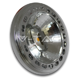 LED Крушка - AR111 15W 12V 40 Градуса Sharp Chip 4500K