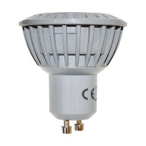LED Крушка - 5W GU10 Пластик – Топло бяла светлина