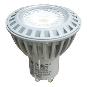 LED Крушка - 6W GU10 COB Пластмаса Топло бяла светлина
