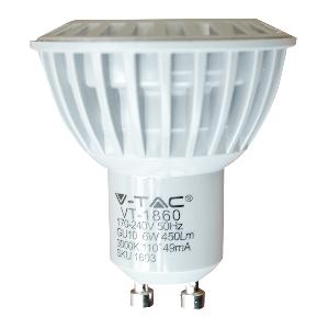 LED Крушка - 6W GU10 COB Пластмаса Неутрално бяла светлина