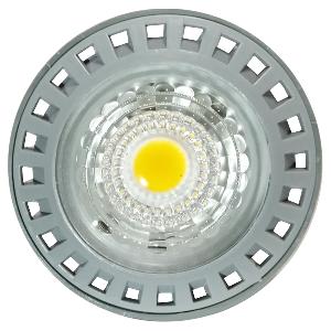 LED Крушка - 6W GU10 Пластик 110° Топло бяла светлина Димираща