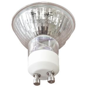 LED Крушка - 3W GU10 Стъклена Топло бяла светлина