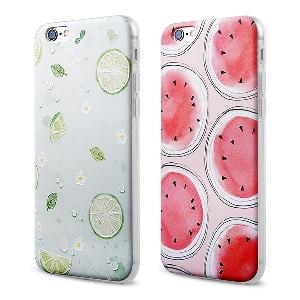 Кейс за мобилен телефон iPhone 6plus iPhone 6 iPhone 5/5s - диня или зелен лимон