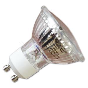 LED Крушка - 5W GU10 Стъклена Бяла Светлина