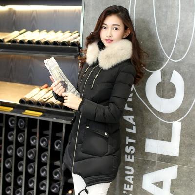 5027a0d0f78 Дълги зимни дамски якета с пухена качулка в различни цветни модели -  Badu.bg - Светът в ръцете ти