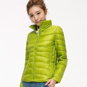 Дамски тънки и къси есенни якета тип слим 15 модела