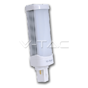 LED Крушка - 6W G24 PL Бяла Светлина